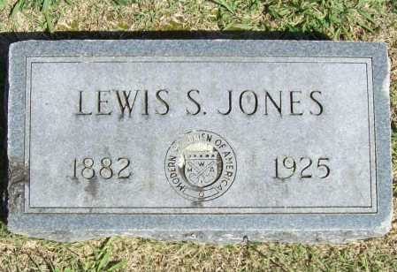 JONES, LEWIS SWART - Benton County, Arkansas | LEWIS SWART JONES - Arkansas Gravestone Photos
