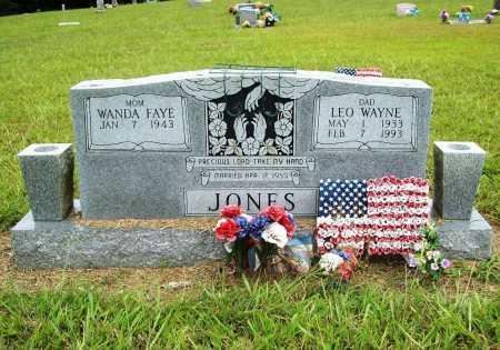 JONES, LEO WAYNE - Benton County, Arkansas | LEO WAYNE JONES - Arkansas Gravestone Photos