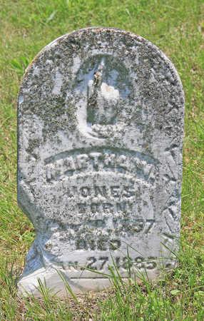 JONES, MARTHA W - Benton County, Arkansas | MARTHA W JONES - Arkansas Gravestone Photos