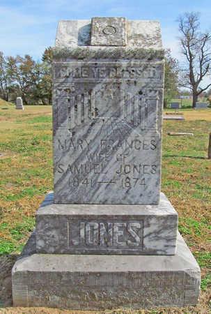 JONES, MARY FRANCES - Benton County, Arkansas | MARY FRANCES JONES - Arkansas Gravestone Photos