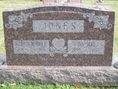 JONES, INA MAE - Benton County, Arkansas   INA MAE JONES - Arkansas Gravestone Photos