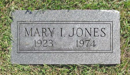 JONES, MARY I - Benton County, Arkansas | MARY I JONES - Arkansas Gravestone Photos