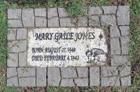 JONES, MARY GAILE - Benton County, Arkansas | MARY GAILE JONES - Arkansas Gravestone Photos