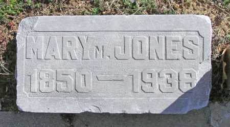 JONES, MARY M - Benton County, Arkansas | MARY M JONES - Arkansas Gravestone Photos