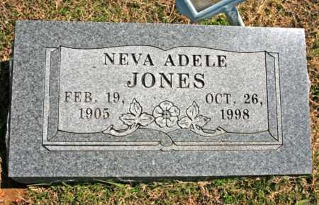 JONES, NEVA ADELE - Benton County, Arkansas | NEVA ADELE JONES - Arkansas Gravestone Photos
