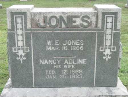 JONES, W E - Benton County, Arkansas | W E JONES - Arkansas Gravestone Photos
