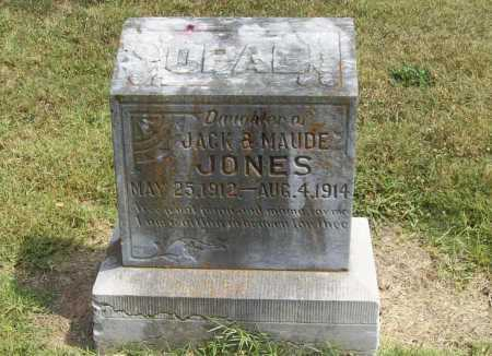 JONES, OPAL - Benton County, Arkansas | OPAL JONES - Arkansas Gravestone Photos