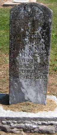 JONES, OPPA RUTH - Benton County, Arkansas | OPPA RUTH JONES - Arkansas Gravestone Photos