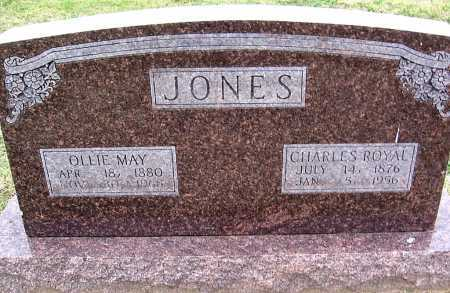 JONES, CHARLES ROYAL - Benton County, Arkansas | CHARLES ROYAL JONES - Arkansas Gravestone Photos