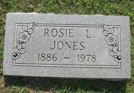 JONES, ROSIE L. - Benton County, Arkansas | ROSIE L. JONES - Arkansas Gravestone Photos