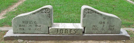JONES (VETERAN CSA), RUFUS C - Benton County, Arkansas | RUFUS C JONES (VETERAN CSA) - Arkansas Gravestone Photos