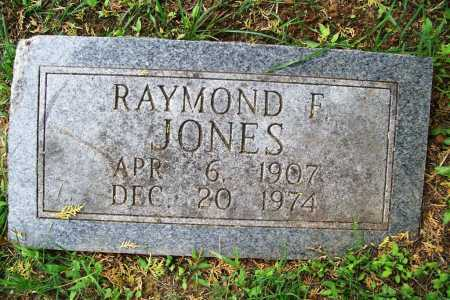 JONES, RAYMOND F. - Benton County, Arkansas | RAYMOND F. JONES - Arkansas Gravestone Photos