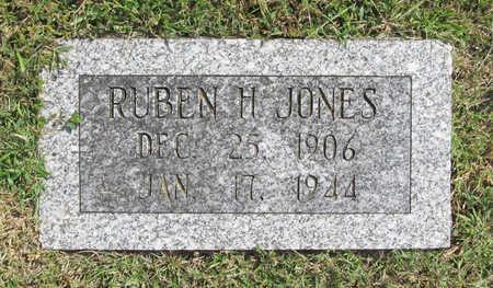 JONES, RUBEN H - Benton County, Arkansas   RUBEN H JONES - Arkansas Gravestone Photos