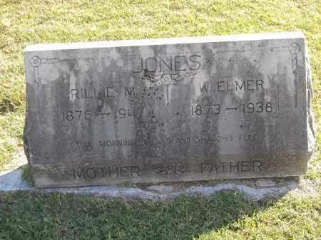 JONES, W. ELMER - Benton County, Arkansas | W. ELMER JONES - Arkansas Gravestone Photos
