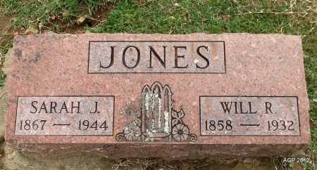 JONES, WILL R. - Benton County, Arkansas | WILL R. JONES - Arkansas Gravestone Photos