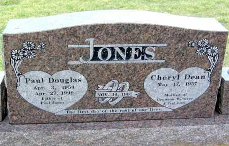 JONES, PAUL DOUGLAS JONES, SR. - Benton County, Arkansas | PAUL DOUGLAS JONES, SR. JONES - Arkansas Gravestone Photos