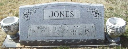 JONES, MARY ALMA - Benton County, Arkansas | MARY ALMA JONES - Arkansas Gravestone Photos