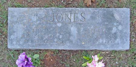 JONES, T F - Benton County, Arkansas | T F JONES - Arkansas Gravestone Photos