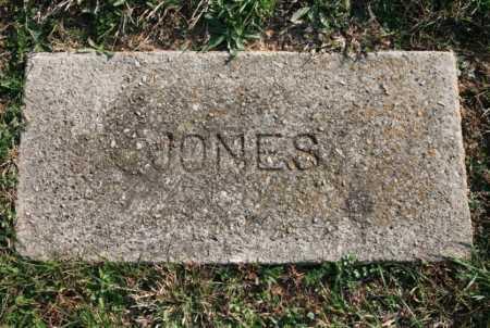 JONES, UNKNOWN - Benton County, Arkansas | UNKNOWN JONES - Arkansas Gravestone Photos