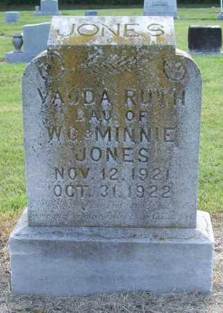 JONES, VAUDA RUTH - Benton County, Arkansas | VAUDA RUTH JONES - Arkansas Gravestone Photos