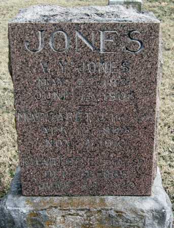 JONES, CHARLES E. - Benton County, Arkansas | CHARLES E. JONES - Arkansas Gravestone Photos