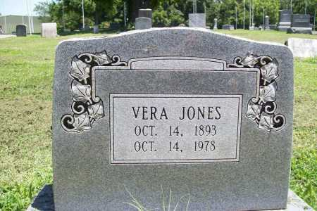 JONES, VERA - Benton County, Arkansas   VERA JONES - Arkansas Gravestone Photos