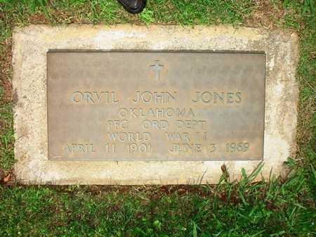 JONES (VETERAN WWII), ORVIL JOHN - Benton County, Arkansas | ORVIL JOHN JONES (VETERAN WWII) - Arkansas Gravestone Photos