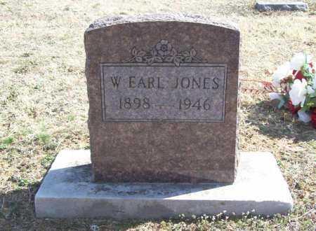 JONES, W. EARL - Benton County, Arkansas | W. EARL JONES - Arkansas Gravestone Photos