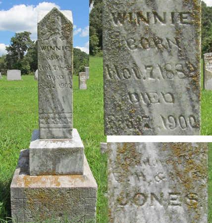 JONES, WINNIE - Benton County, Arkansas   WINNIE JONES - Arkansas Gravestone Photos