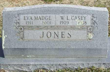 "JONES, W. L. ""CASEY"" - Benton County, Arkansas | W. L. ""CASEY"" JONES - Arkansas Gravestone Photos"