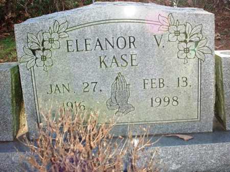 KASE, ELEANOR V. - Benton County, Arkansas | ELEANOR V. KASE - Arkansas Gravestone Photos