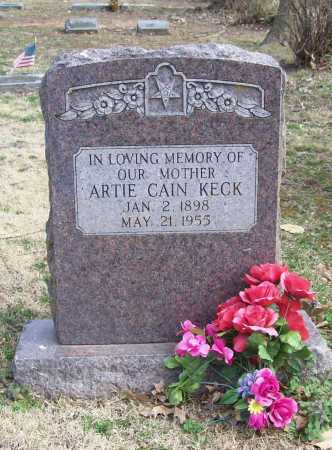 KECK, ARTIE - Benton County, Arkansas | ARTIE KECK - Arkansas Gravestone Photos
