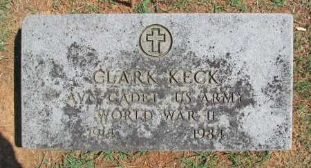 KECK (VETERAN WWII), CLARK - Benton County, Arkansas | CLARK KECK (VETERAN WWII) - Arkansas Gravestone Photos