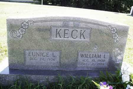 KECK, WILLIAM L. - Benton County, Arkansas | WILLIAM L. KECK - Arkansas Gravestone Photos