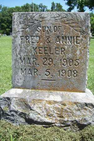 KEELER, BERT - Benton County, Arkansas | BERT KEELER - Arkansas Gravestone Photos