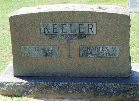 KEELER, CHARLES M. - Benton County, Arkansas | CHARLES M. KEELER - Arkansas Gravestone Photos