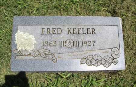 KEELER, FRED - Benton County, Arkansas   FRED KEELER - Arkansas Gravestone Photos