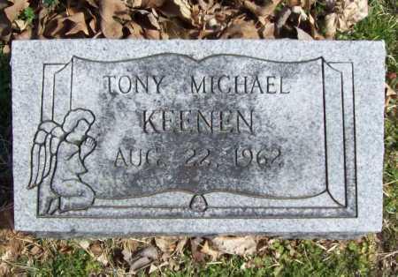 KEENEN, TONY MICHAEL - Benton County, Arkansas | TONY MICHAEL KEENEN - Arkansas Gravestone Photos