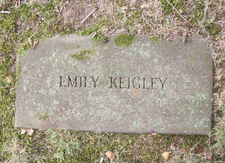 KEIGLEY, EMILY - Benton County, Arkansas | EMILY KEIGLEY - Arkansas Gravestone Photos