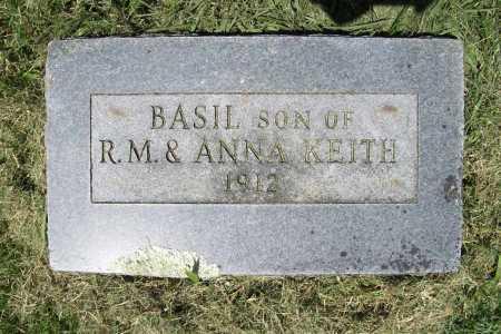 KEITH, BASIL - Benton County, Arkansas | BASIL KEITH - Arkansas Gravestone Photos