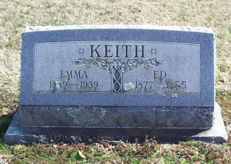 KEITH, ED - Benton County, Arkansas | ED KEITH - Arkansas Gravestone Photos