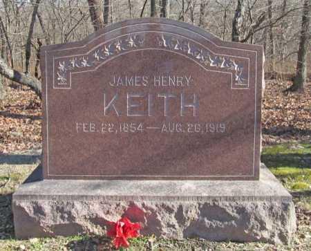 KEITH, JAMES HENRY - Benton County, Arkansas   JAMES HENRY KEITH - Arkansas Gravestone Photos