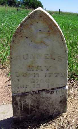 MAY, RUNNELS - Benton County, Arkansas | RUNNELS MAY - Arkansas Gravestone Photos