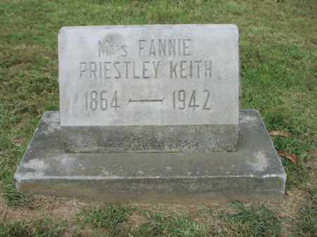 """KEITH, VIRGINIA """"FANNIE"""" - Benton County, Arkansas   VIRGINIA """"FANNIE"""" KEITH - Arkansas Gravestone Photos"""
