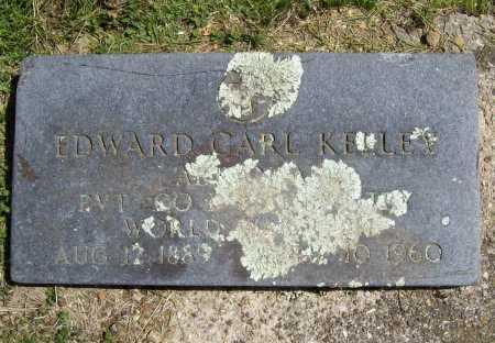 KELLEY (VETERAN WWI), EDWARD CARL - Benton County, Arkansas   EDWARD CARL KELLEY (VETERAN WWI) - Arkansas Gravestone Photos