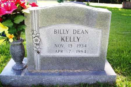 KELLY, BILLY DEAN - Benton County, Arkansas   BILLY DEAN KELLY - Arkansas Gravestone Photos