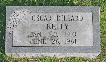 KELLY, OSCAR DILLARD - Benton County, Arkansas   OSCAR DILLARD KELLY - Arkansas Gravestone Photos