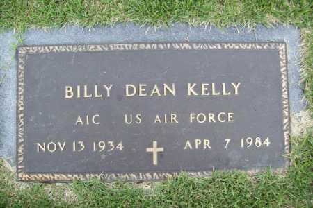 KELLY (VETERAN), BILLY DEAN - Benton County, Arkansas | BILLY DEAN KELLY (VETERAN) - Arkansas Gravestone Photos