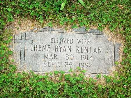 RYAN KENLAN, IRENE - Benton County, Arkansas | IRENE RYAN KENLAN - Arkansas Gravestone Photos