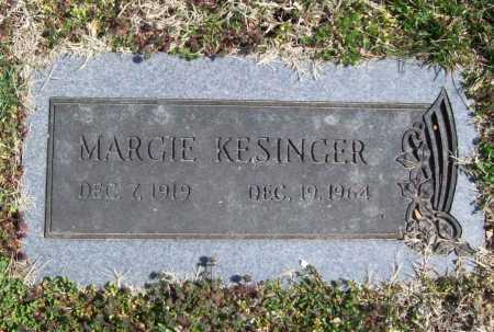 KESINGER, MARGIE - Benton County, Arkansas | MARGIE KESINGER - Arkansas Gravestone Photos